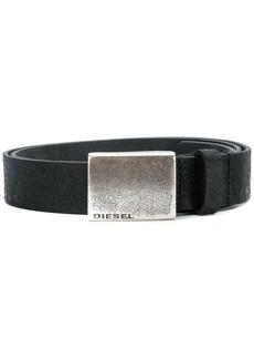 Diesel engraved logo belt