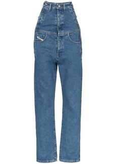 Diesel extended rise straight leg jeans