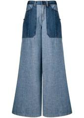 Diesel extra-wide jeans