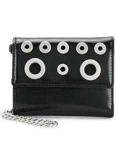 Diesel eyelets card case