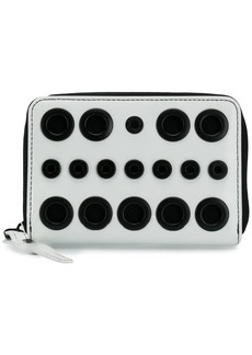 Diesel eyelets zip around wallet