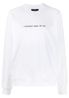 Diesel F-Ang-Copy relaxed-fit sweatshirt