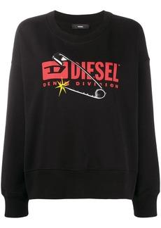 Diesel F-Magda crew neck sweatshirt