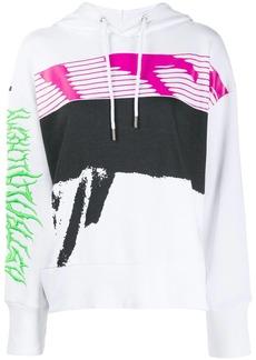 Diesel F-Magdalena printed hoodie