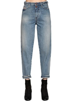 Diesel Faded Cotton Denim Jeans