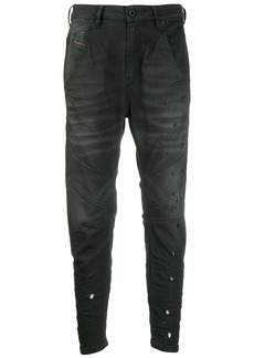 Diesel faded finish jeans