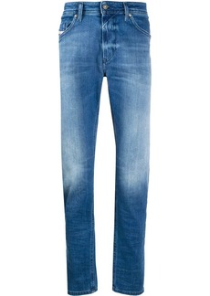 Diesel faded slim-fit jeans