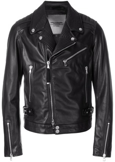 Diesel fitted biker jacket