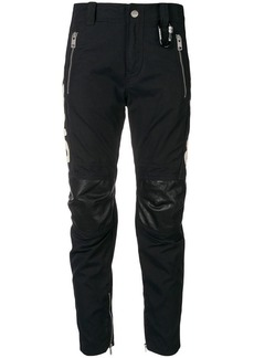 Diesel fitted biker trousers
