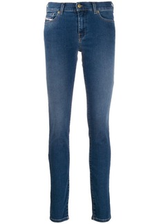 Diesel five pocket skinny jeans