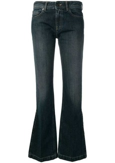 Diesel flared fit jeans