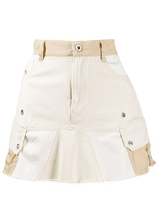 Diesel flared mini skirt