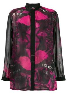 Diesel floral blouse