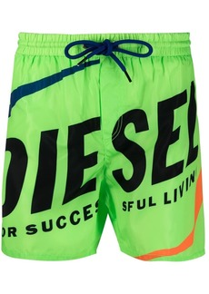 Diesel fold & go shell swim shorts