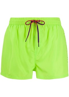 Diesel Fold & Go Logo swims shorts