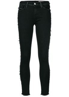Diesel frayed detail skinny trousers