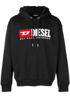 Diesel front logo hoodie