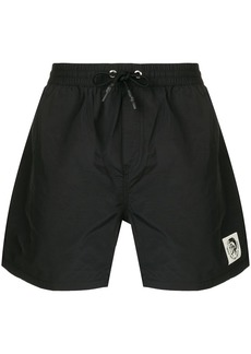 Diesel front pocket swim shorts