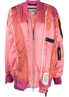 Diesel G-Frankie deconstructed bomber jacket