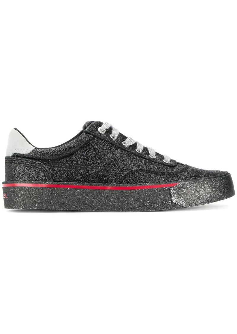 Diesel glitter sneakers
