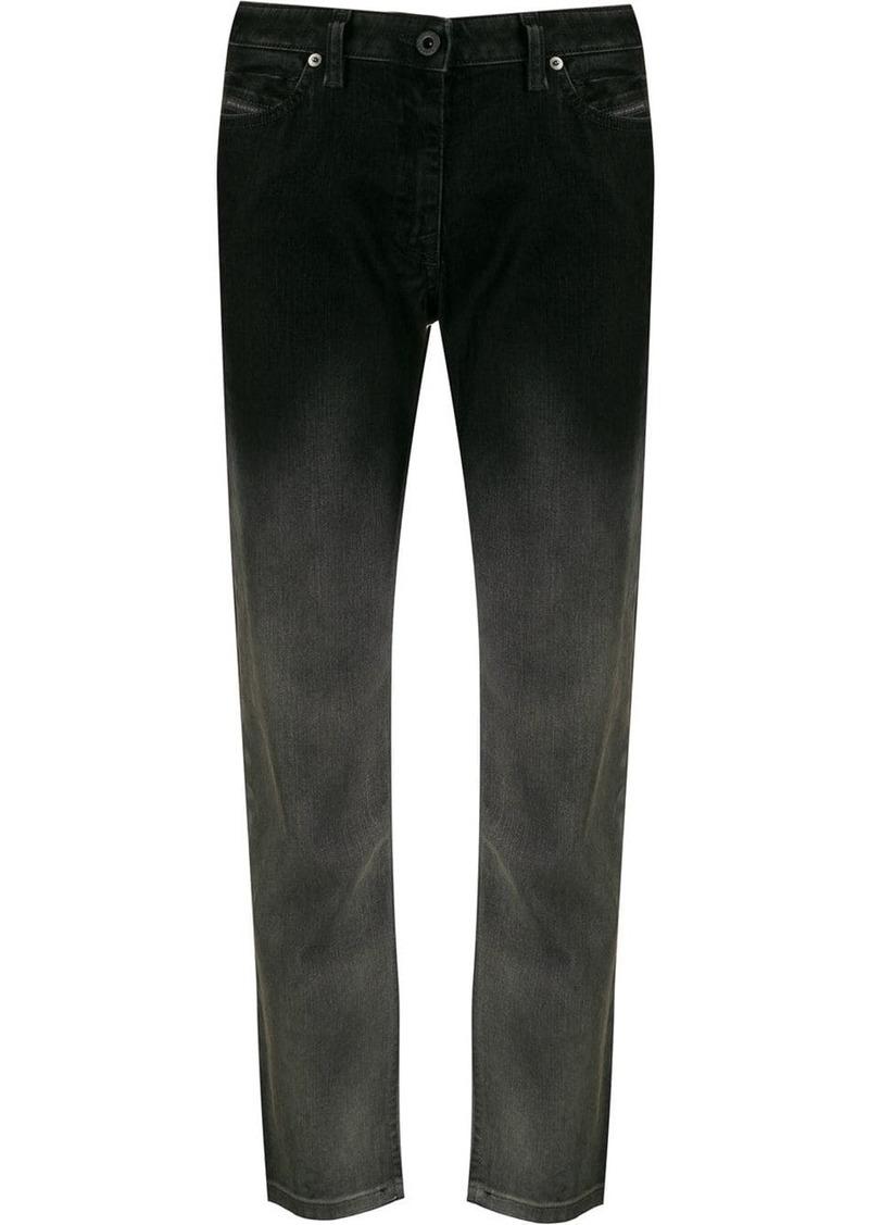 Diesel gradient straight jeans