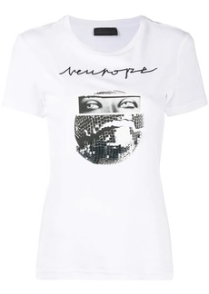 Diesel graphic print embellished T-shirt