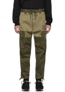 Diesel Green P-Lukk Cargo Pants