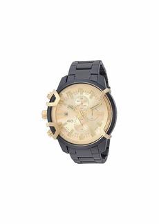 Diesel Griffed Chronograph Stainless Steel Watch DZ4525