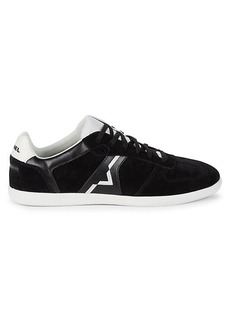 Diesel Happy Hours Suede & Leather Sneakers