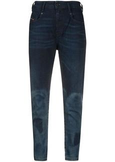 Diesel high rise skinny jeans