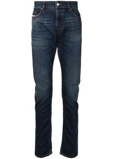 Diesel high-rise straight leg jeans