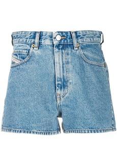 Diesel high rise straight leg shorts
