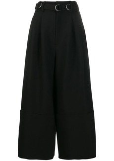 Diesel high-waist belted side trousers