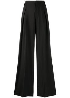 Diesel high-waist flared trousers