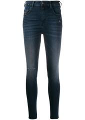 Diesel high waist skinny jeans