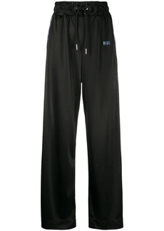 Diesel high-waisted drawstring trousers