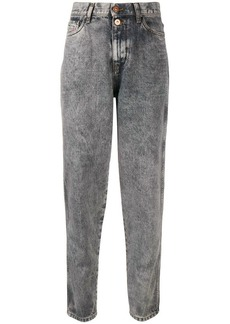 Diesel high-waisted tapered jeans