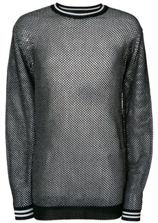 Diesel honeycomb-knit sweater
