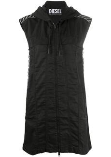 Diesel hooded mini dress