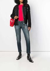 Diesel hooded net jacket