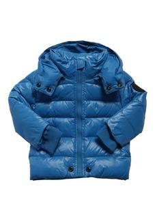 Diesel Hooded Nylon Down Jacket
