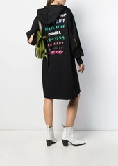 Diesel hooded oversized dress