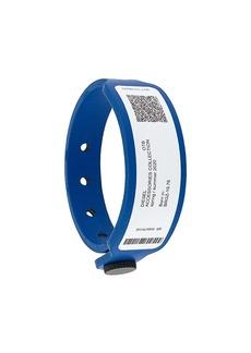 Diesel identity band faux-leather bracelet