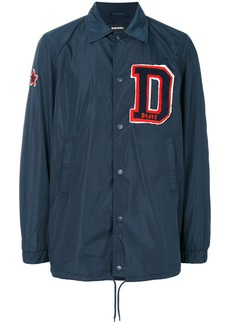 Diesel initial patch coach jacket