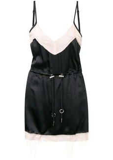 Diesel inside out short dress