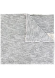 Diesel intarsia detail scarf