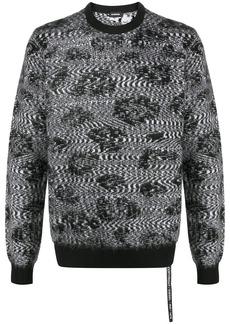 Diesel intarsia knit jumper