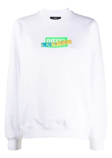 Diesel iridescent tape jumper