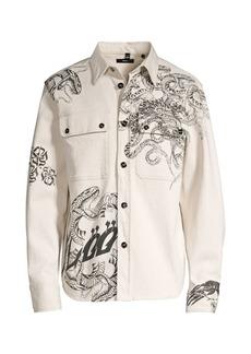 Diesel Jessy Graphic Denim Shirt