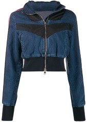 Diesel JoggJeans denim jacket with inserts
